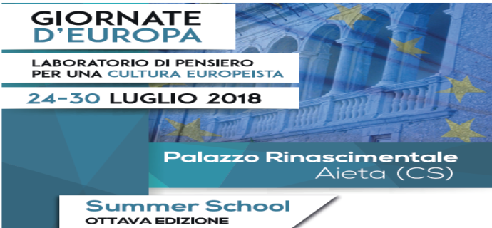 Summer School AIETA 2018